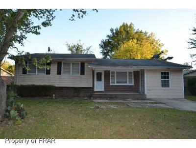 Fayetteville NC Single Family Home For Sale: $67,500