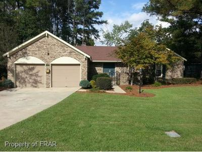 Fayetteville NC Single Family Home For Sale: $194,500