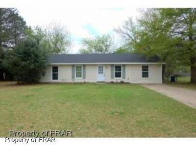 Fayetteville NC Single Family Home For Sale: $69,900