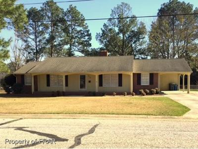 Fayetteville NC Single Family Home For Sale: $187,500