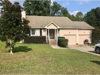 Fayetteville NC Single Family Home For Sale: $134,500