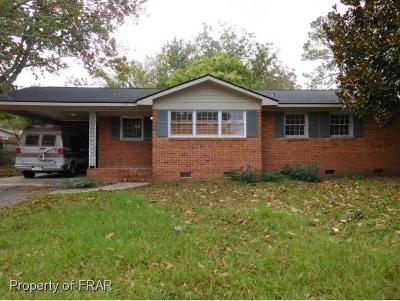 Fayetteville NC Single Family Home For Sale: $40,000