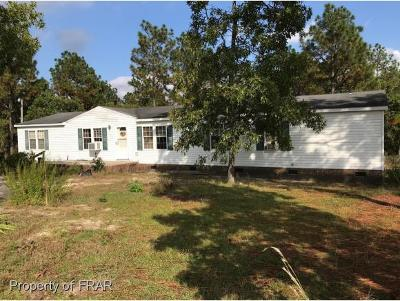 Raeford NC Single Family Home For Sale: $85,900