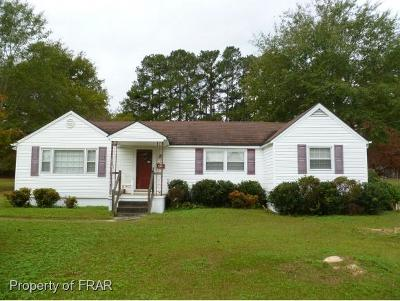 Raeford Single Family Home For Sale: 403 North Wright St
