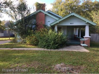 Fayetteville Single Family Home For Sale: 607 Dunn Rd