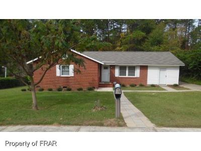 Fayetteville NC Single Family Home For Sale: $93,000