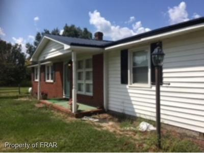 Sampson County Single Family Home For Sale: 3298 Maxwell Road