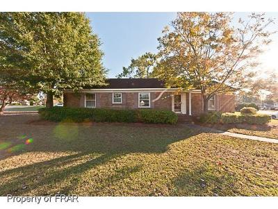 Fayetteville NC Single Family Home For Sale: $86,500