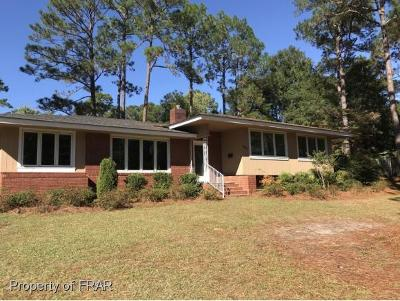 Fayetteville NC Single Family Home For Sale: $179,900