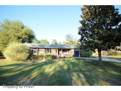 Fayetteville NC Single Family Home For Sale: $98,500