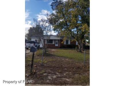 Hope Mills Single Family Home For Sale: 3238 Vardaman Ave