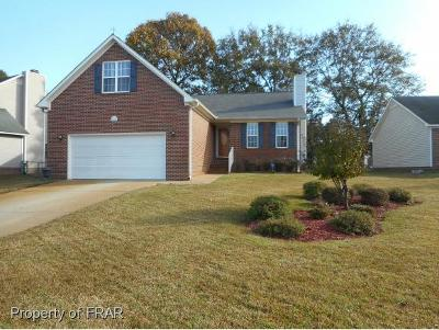 Hope Mills NC Single Family Home For Sale: $145,500