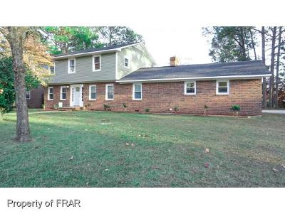 Fayetteville NC Single Family Home For Sale: $219,900