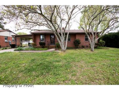 Fayetteville Single Family Home For Sale: 5123 Palmetto Ln