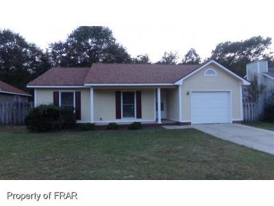 Fayetteville Single Family Home For Sale: 1661 Veanna Dr