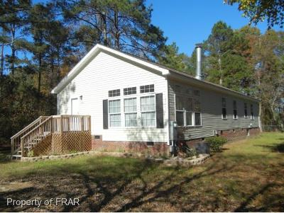 Lumber Bridge Single Family Home For Sale: 385 Sunset Lake Rd