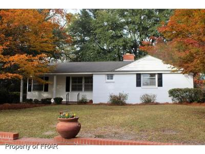 Fayetteville NC Single Family Home For Sale: $124,900