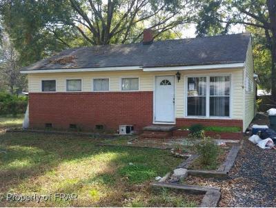 Fayetteville Single Family Home For Sale: 118 Douglas St #9