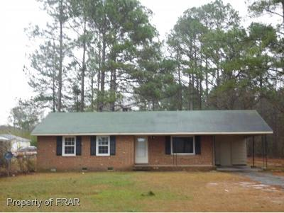 Raeford Single Family Home For Sale: 200 Doc Brown Road
