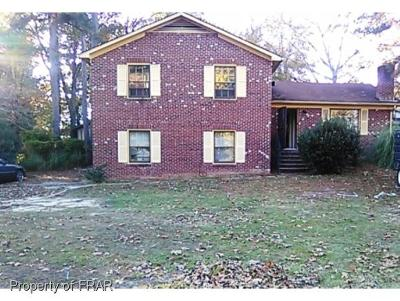 Fayetteville Single Family Home For Sale: 1031 Cain Rd