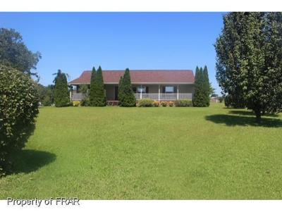 Raeford NC Single Family Home For Sale: $134,999