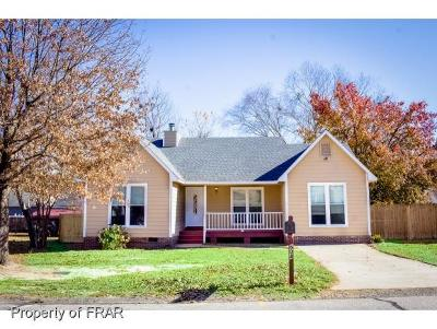 Fayetteville NC Single Family Home For Sale: $89,900