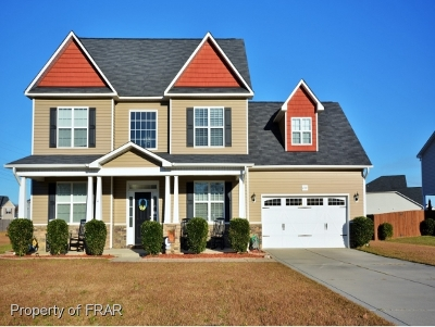 Hope Mills NC Single Family Home For Sale: $224,500