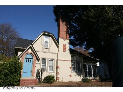 Fayetteville Single Family Home For Sale: 1006 Clarendon Street