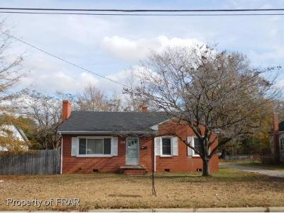 Raeford NC Single Family Home For Sale: $70,000