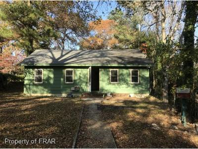 Fayetteville NC Single Family Home For Sale: $29,000