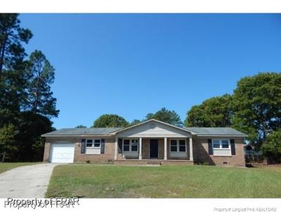 Fayetteville Single Family Home For Sale: 320 Nugget Ct #271