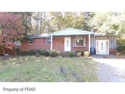 Fayetteville Single Family Home For Sale: 1478 Thelbert Dr
