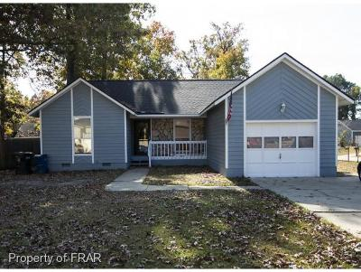 Fayetteville NC Single Family Home For Sale: $115,000