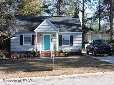 Fayetteville NC Single Family Home For Sale: $209,900
