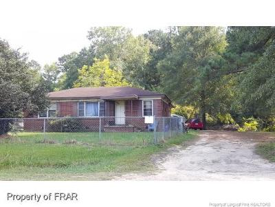 Fayetteville NC Single Family Home For Sale: $39,900