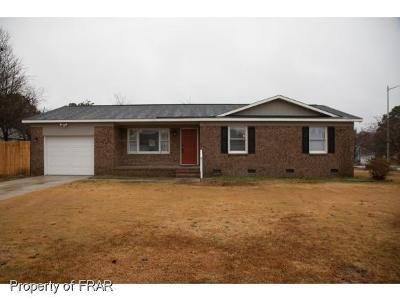 Fayetteville NC Single Family Home For Sale: $105,900