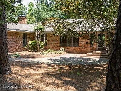 Fayetteville NC Single Family Home For Sale: $495,000