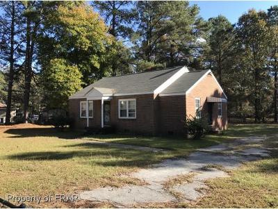 Fayetteville NC Single Family Home For Sale: $30,000