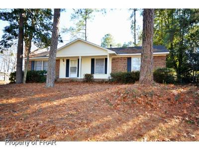 Fayetteville NC Single Family Home For Sale: $75,000