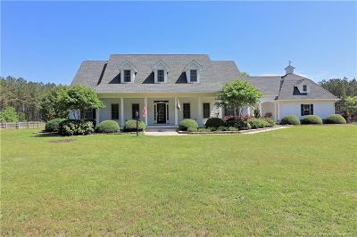 Hoke County Single Family Home For Sale: 145 Horizon Trail