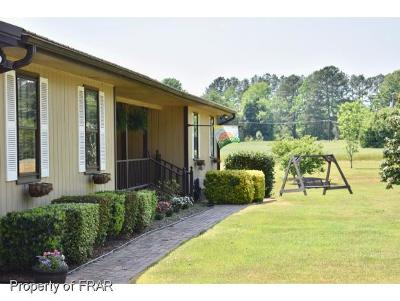Lillington Single Family Home For Sale: 3011 Brick Mill Rd