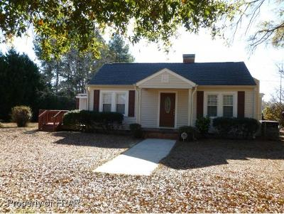 Fayetteville NC Single Family Home For Sale: $139,900