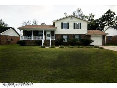 Fayetteville NC Single Family Home For Sale: $128,700
