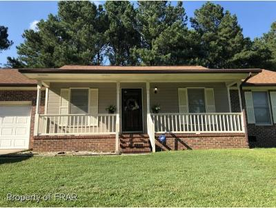 Fayetteville NC Single Family Home For Sale: $99,600