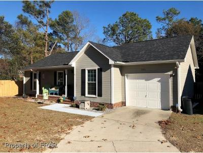 Hope Mills Single Family Home For Sale: 3306 Crosswinds Dr #19