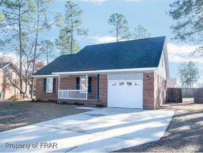 Fayetteville NC Single Family Home For Sale: $127,900