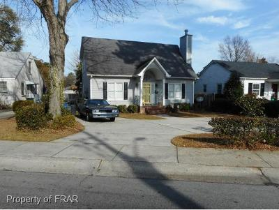 Single Family Home For Sale: 1614 Fort Bragg Rd