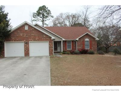 Fayetteville NC Single Family Home For Sale: $162,500