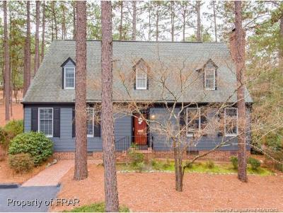 Southern Pines Single Family Home For Sale: 26 Village In The Woods