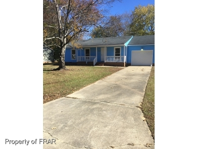 Fayetteville Single Family Home For Sale: 1619 Lawhorne Drive
